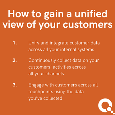 How to gain a unified view of your customers